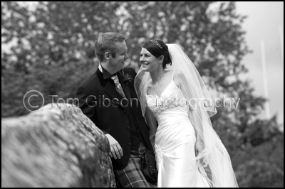 Wedding Brig O Doon House Hotel, Bride and Groom Wedding Photograph Brig€™O