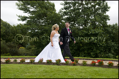 Wedding Photographer Lochside House Hotel, Bride and Groom Natural Wedding Photographs