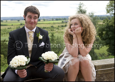 Reportage Fun Wedding Photographs, Airth Castle, Stirling