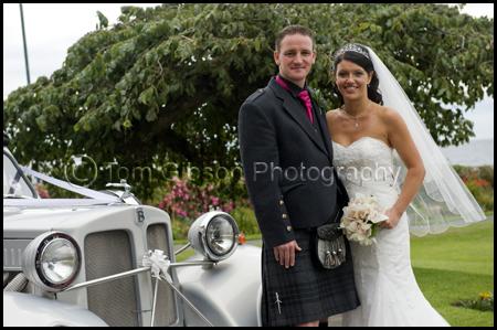 Seamill, West Kilbride wedding, Wedding photographer Ayrshire, Bride and Groom photographs
