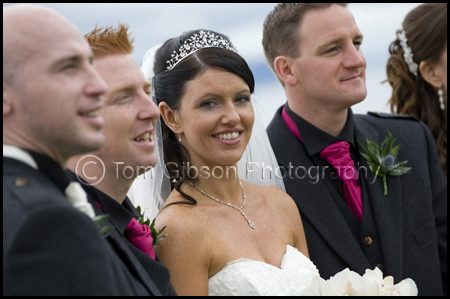 Wedding Seamill Hydro Hotel, Fun, natural wedding photographs Bridal Party