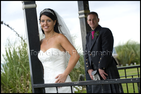 Seamill Hydro Hotel Wedding Photographer, Bride and Groom Wedding Photograph