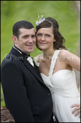 Wedding Photographer Ayrshire, Lochside House Hotel Wedding, Bride and Groom beautiful photographs