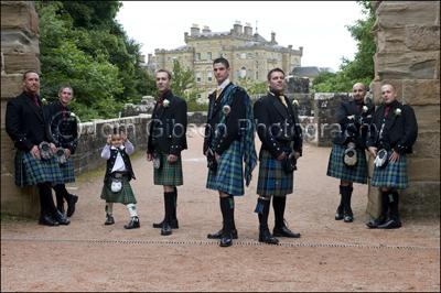 Wedding Photographer Culzean Castle, Maybole, Ayrshire, Scotland, Wedding Photograph Groom and Groomsmen
