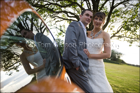 Bride and Groom Lochgreen House Hotel Photograph, Photographer Lochgreen House Hotel, Troon, Scotland