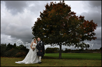 Wedding Photograph Menzies Hotel Ayrshire Photographer