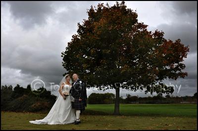 Wedding Photograph Menzies Hotel Ayrshire Photographer
