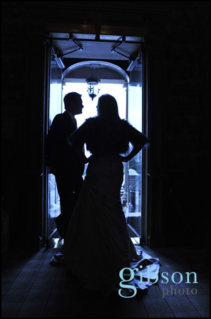 Moorpark House Hotel, Wedding Photographer Sillhouette photograph