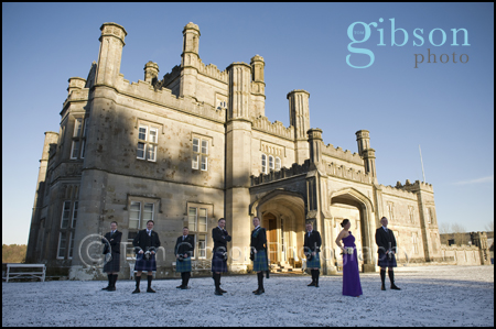 Civil Partnership Photograph Blairquhan Castle Ayrshire