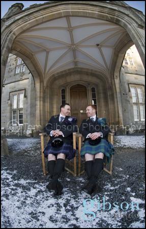 Blairquhan Castle Fun Civil Partnership Photograph