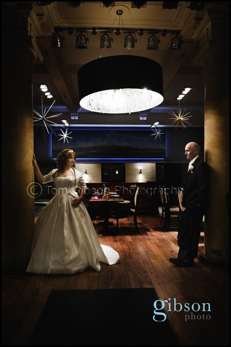 Wedding Photographer Seamill Hydro Hotel, Winter wedding photographs