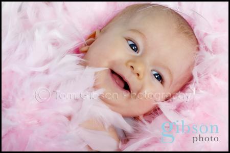 Baby Photographer West Kilbride, really cute baby photograph