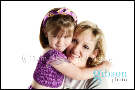 Ayrshire Photographer,  Mum and Toddler photograph