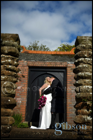 Wedding Photographer Ayrshire Peirsland Hotel Troon Bride and Groom