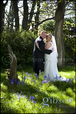 Ayrshire Beautiful Wedding Photograph Bride and Groom