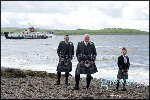 Wedding Photographer Largs, Lorraine & Stephen Brisbane House Hotel