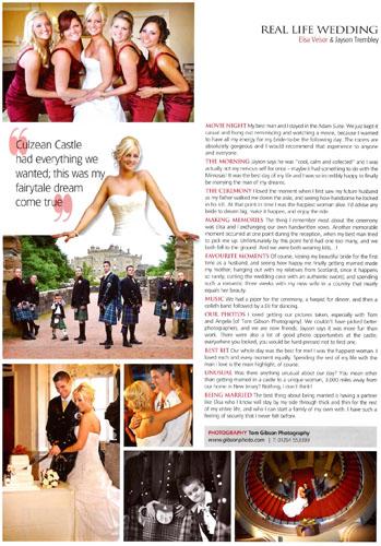 Wedding Photographer Culzean Castle