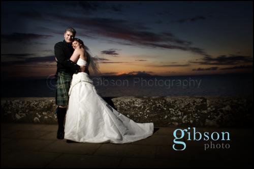 Culzean Castle Wedding Photographer, Bride and Groom Photograph