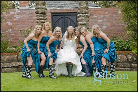 Bridal Party Fun Wedding Photographs Ayrshire Wedding Photographer Piersland Troon