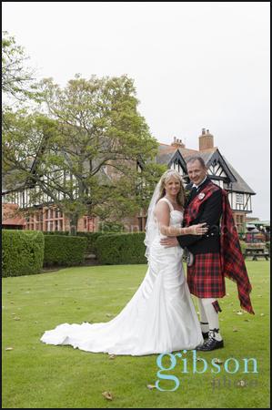 Piersland House Hotel Wedding photograph bride and groom, Ayrshire Photographer