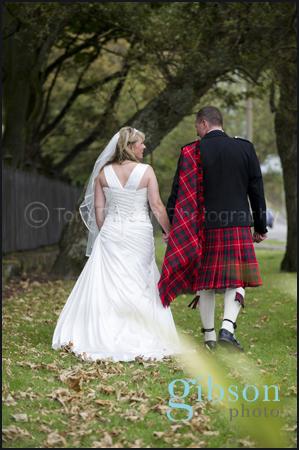 Wedding Photographer Scotland Bride and Groom Wedding Photographs