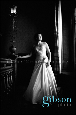 Wedding Photographer Glasgow bridal portrait