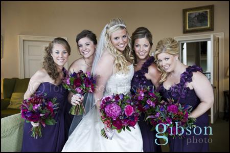 Wedding Photographer Culzean Castle, beautiful bride and bridesmaid photograph