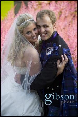 Fairytale Wedding Culzean Castle Bride and Groom Photographs