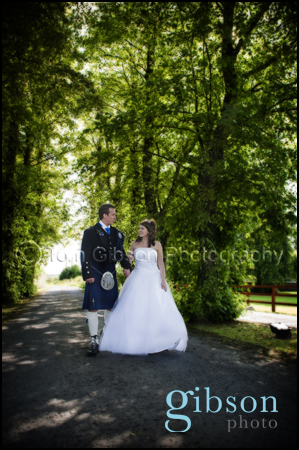 Fiona & Robert/Burnhouse Manor/Ayrshire Wedding Photographer