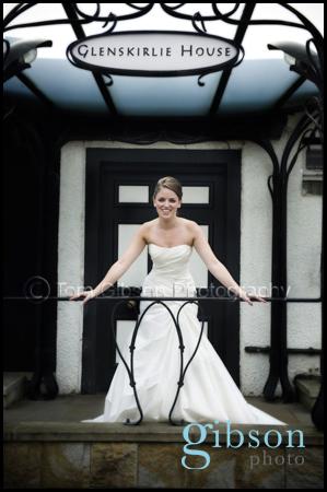 Glenskirlie Wedding Photography bridal portrait