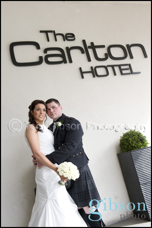 Nicola and Nick, Carlton Hotel Prestwick Wedding Photographer
