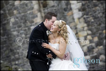 Dundonald Castle Wedding Photography