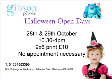 Halloween Photography offer