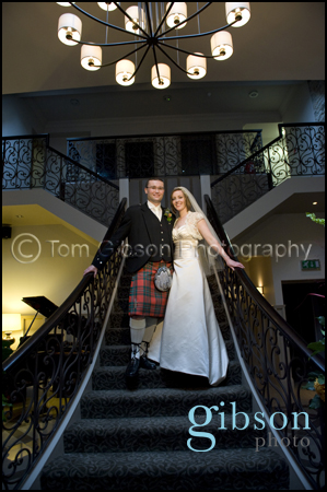 Beautiful wedding photos Dumfries Arms Hotel