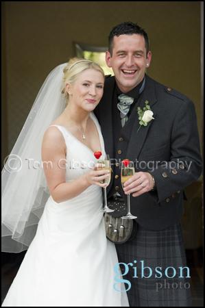 Lochside House Hotel Wedding Photographer