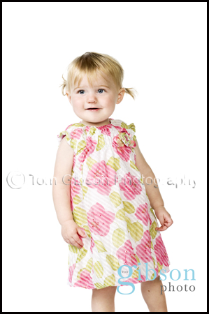 Studio Portrait Photographer Ayrshire - Cute toddler photograph
