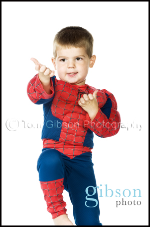 Studio Portrait Photographer Kilmarnock - Fun toddler photograph