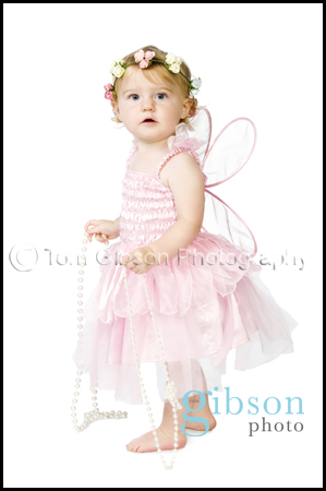 Studio Portrait Photographer Troon - Beautiful toddler photograph