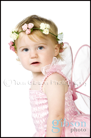 Studio Portrait Photographer Irvine - Gorgeous toddler photograph