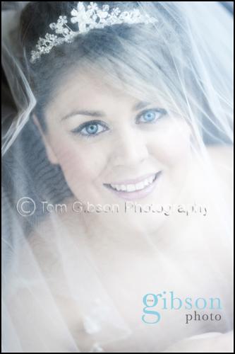 Lochside House Hotel Wedding, Bridal Portrait