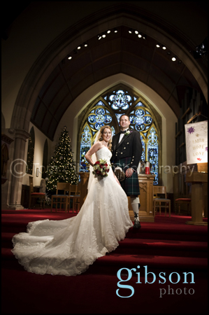 Wedding Photograph Alloway Parish Church