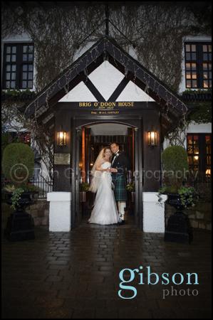 Brig'O'Doon Wedding Photographer Ayrshire
