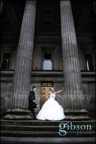 Royal Exchange Square Glasgow Wedding
