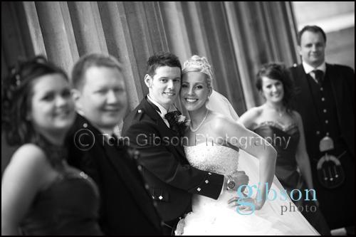 Glasgow City Centre Wedding Photograph