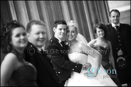 Glasgow City Centre Wedding Photograph