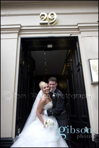 29 Royal Exchange Square Glasgow Wedding