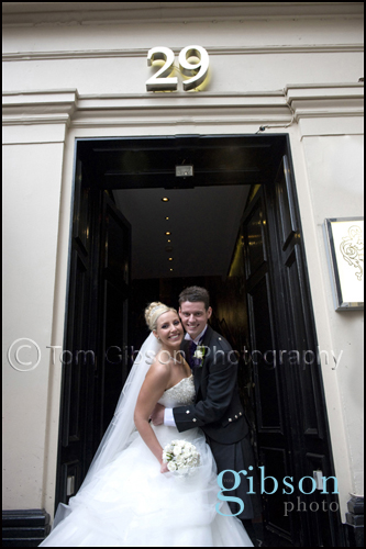 29 Royal Exchange Square Glasgow Wedding