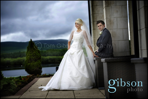 Lochside House Hotel Wedding Photography with Carol and Stuart