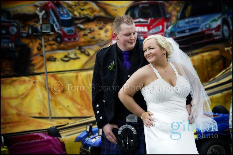 Theresa & Ian Brisbane House Hotel, Largs Wedding