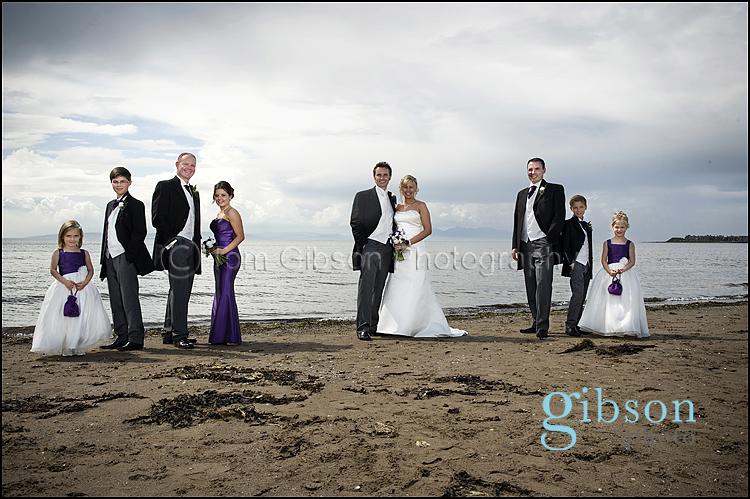 Troon Beach Wedding Photographs